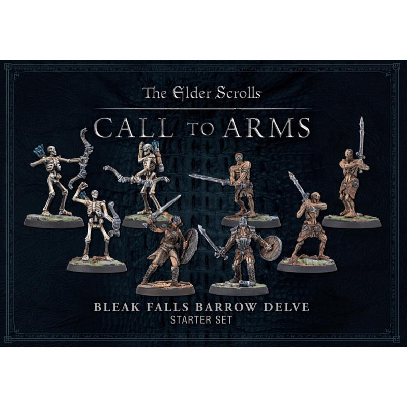 Bleak Falls Barrow Delve set - Plastic