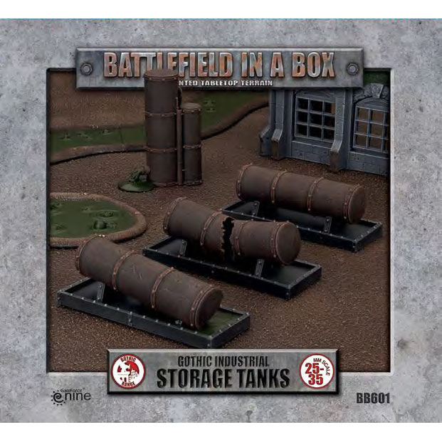 Gothic Industrial Tanks  - 30mm