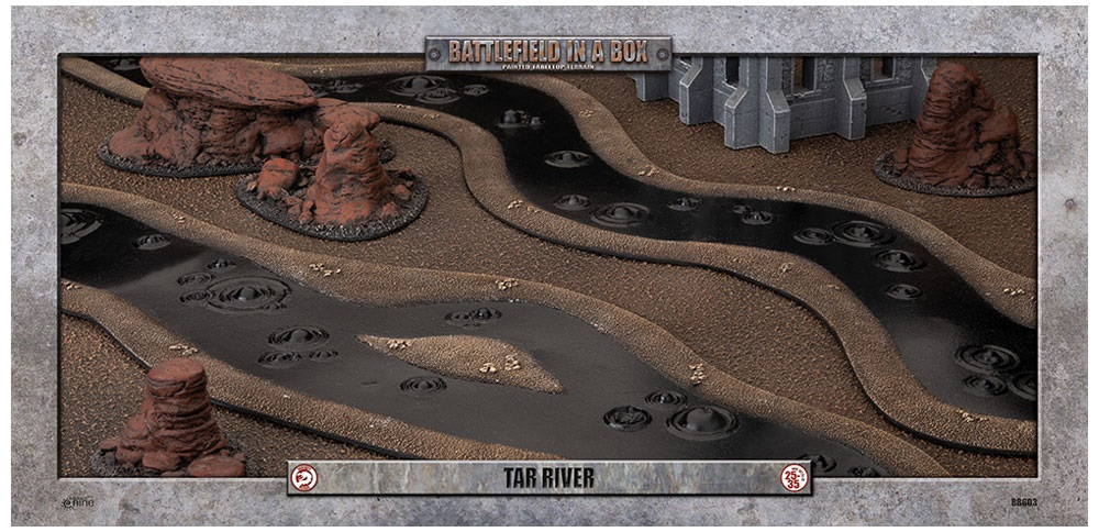 Tar River (6ft) - 30mm
