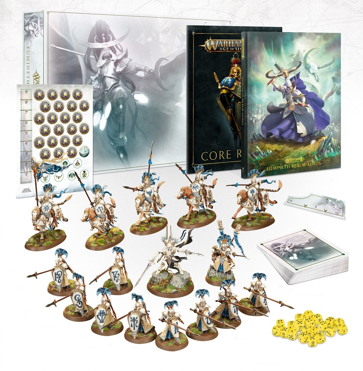 Lumineth Realm Lords Launch set Black Friday deal