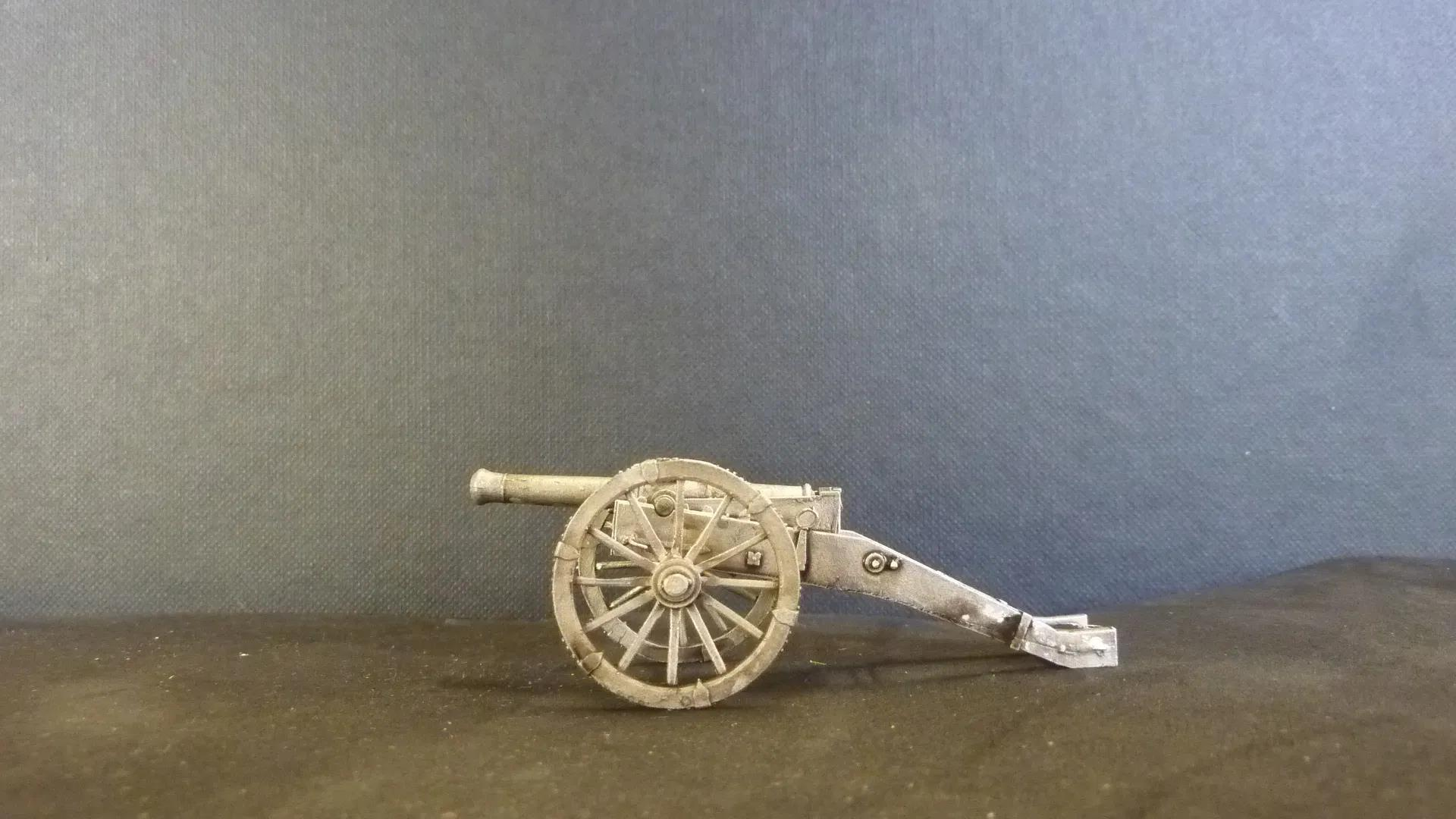 Saxon Rapid Fire Cannon (3/6pdr)