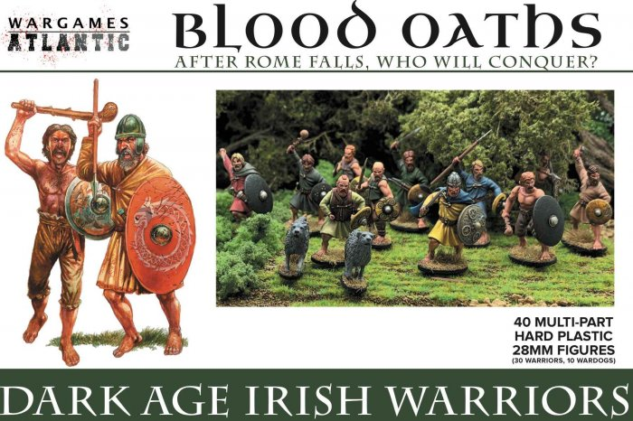 Dark Age Irish Warriors
