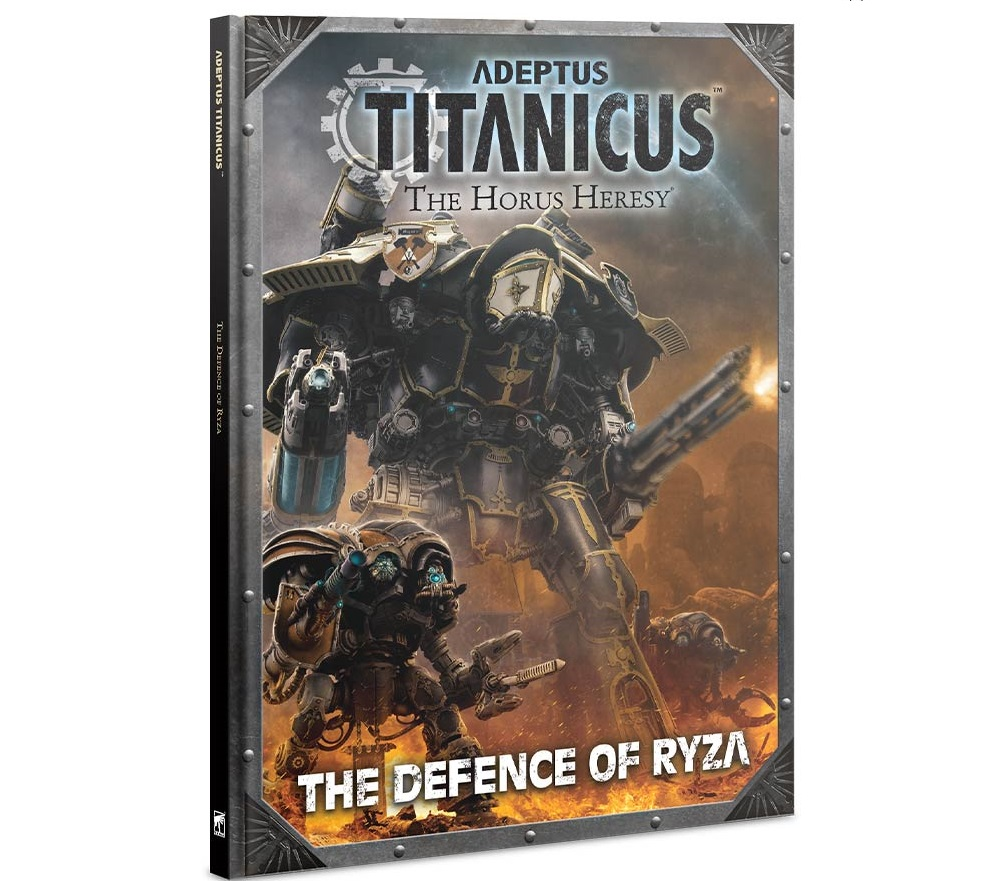 Adeptus Titanicus: Defence of Ryza.  Black Friday