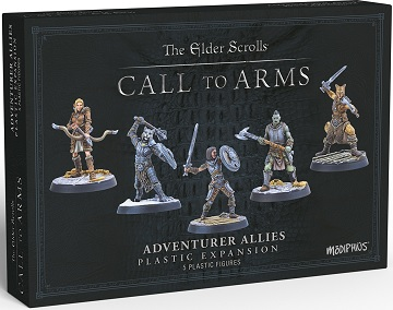 The Elder Scrolls: Call to Arms Adventurer Allies