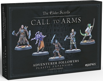 The Elder Scrolls: Call to Arms Adventurer Followers