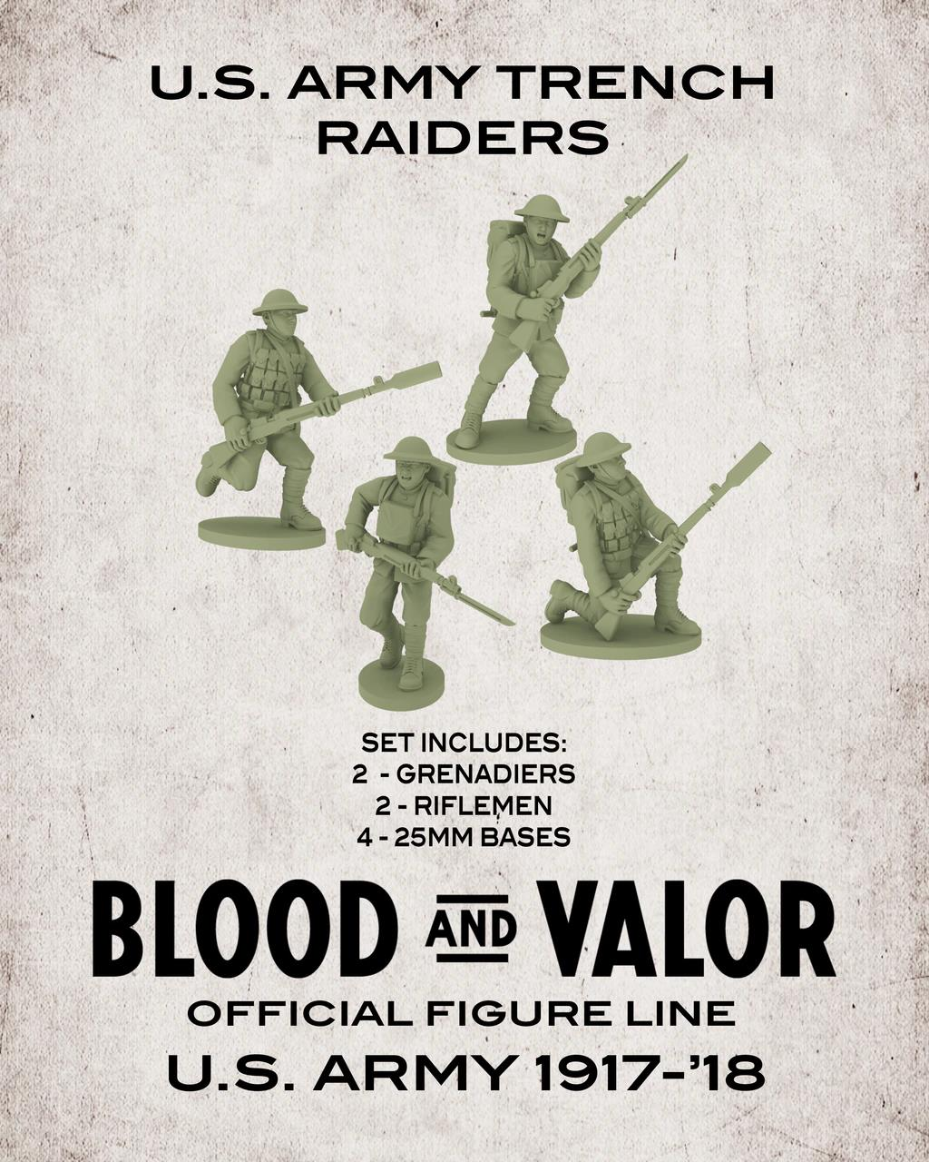 US Army Trench Raiders.  Black Friday