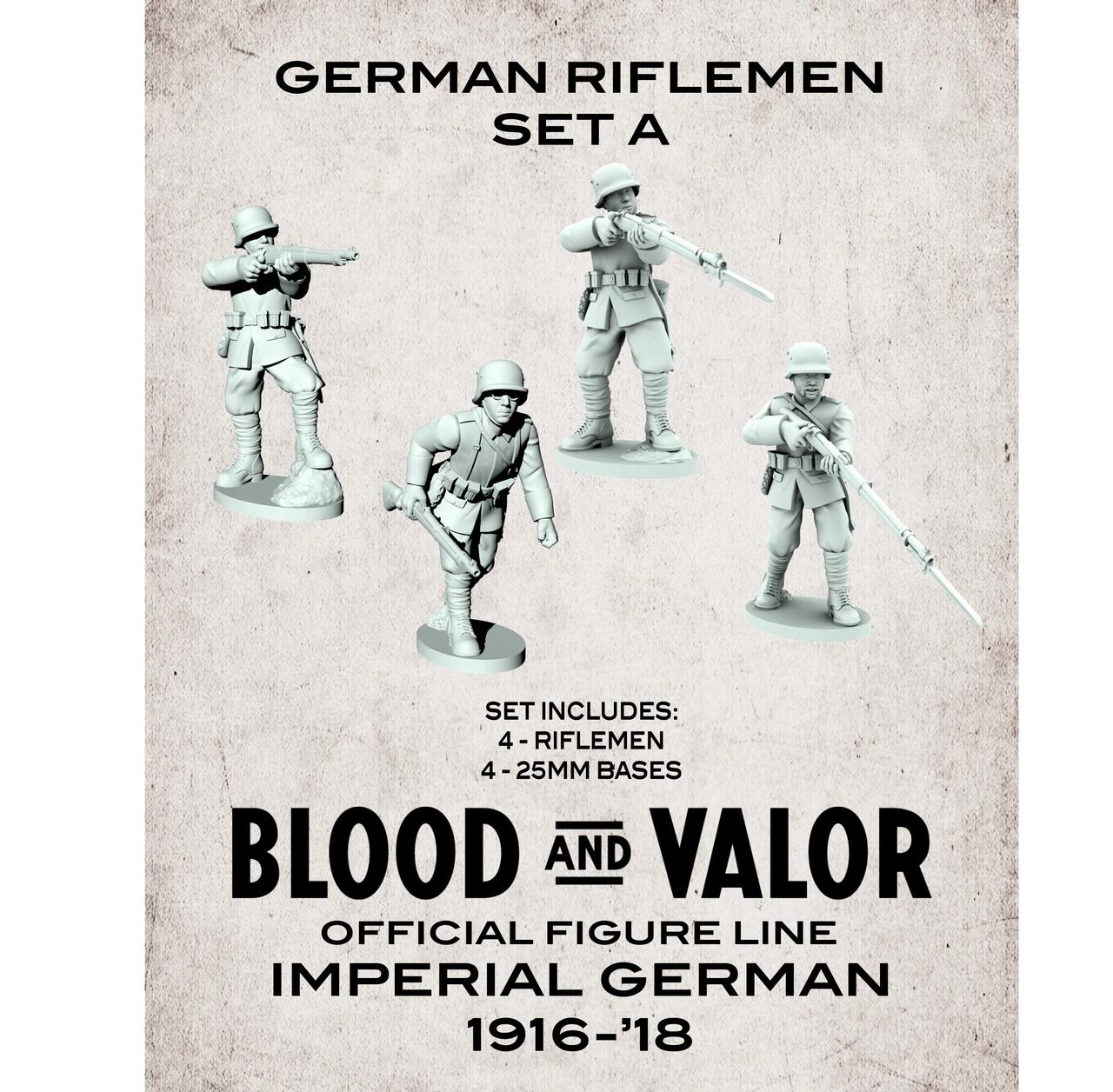 German Army Riflemen Set A.  Black Friday