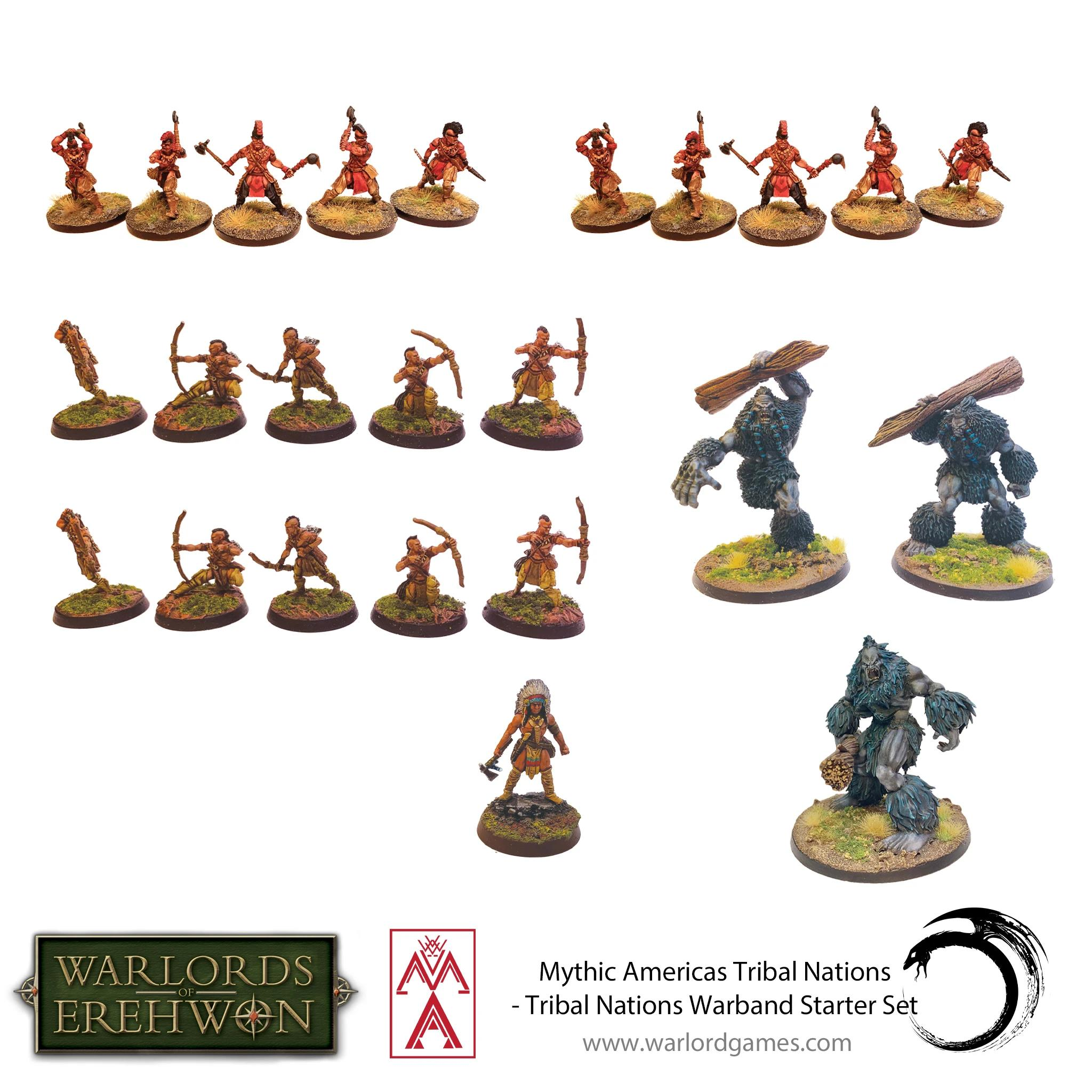 Tribal Nations Warband Starter Set