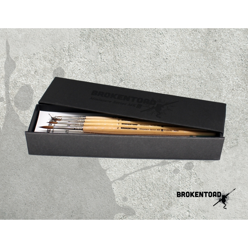 Miniature Series MK3 Brush - Boxed Set