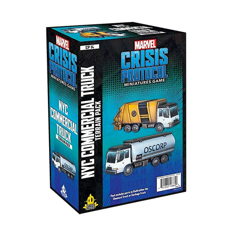 Marvel Crisis Protocol: Commercial Truck Terrain Pack