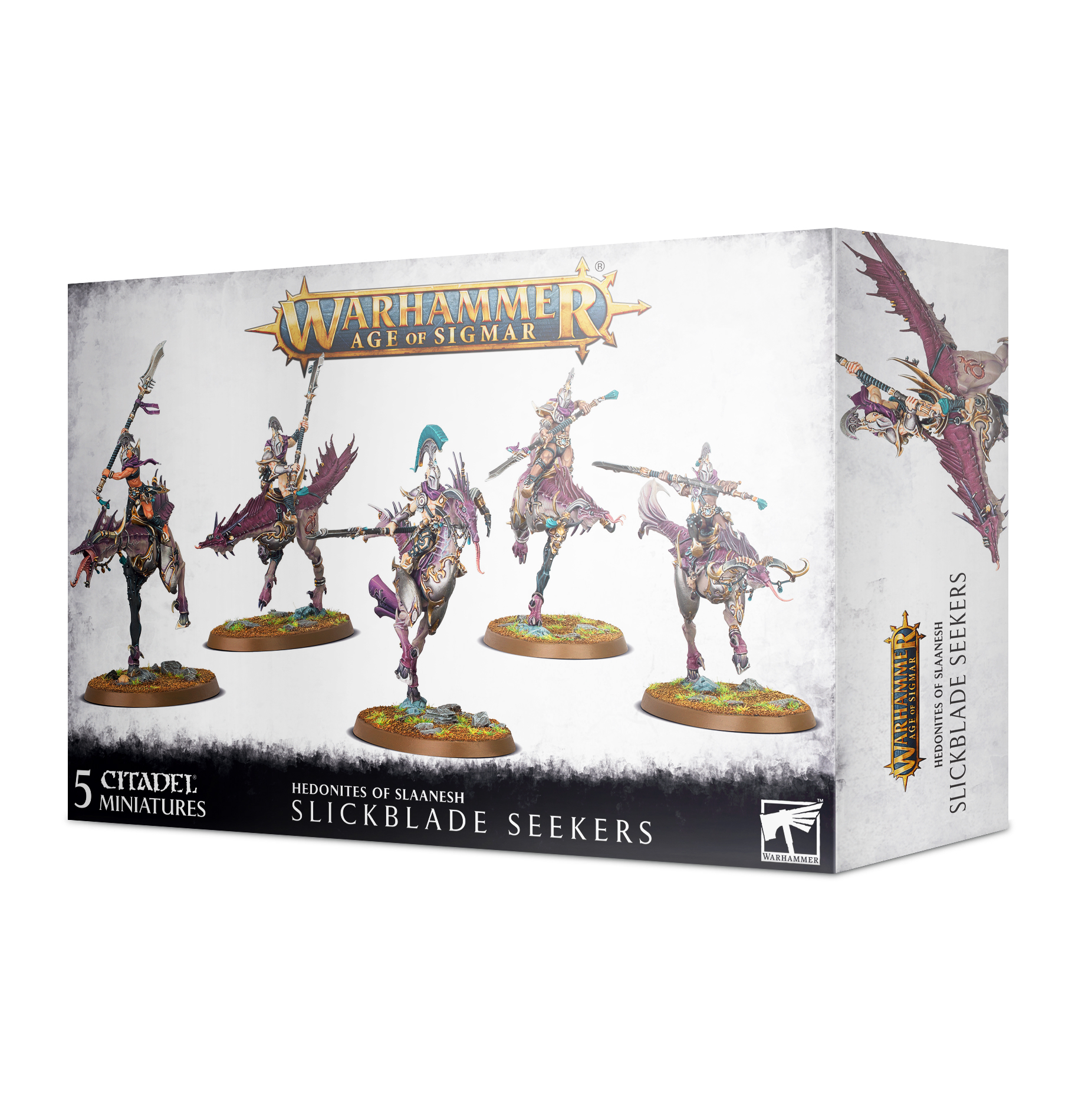Hedonites of Slaanesh: Slickblade Seekers / Blissbarb Seekers