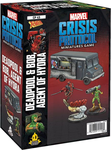 Marvel Crisis Protocol: Deadpool and Taco Truck Character