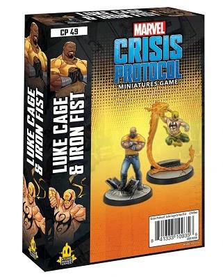 Marvel Crisis Protocol: Luke Cage and Iron Fist