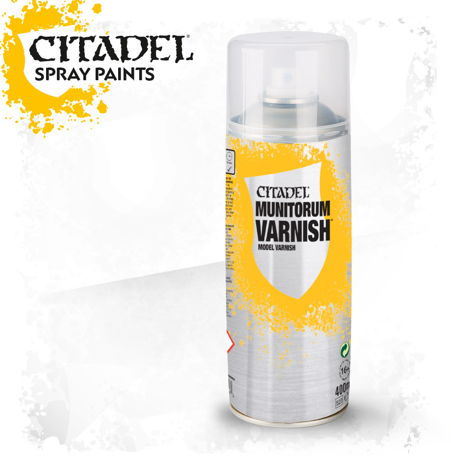 Citadel Munitorum Varnish Spray