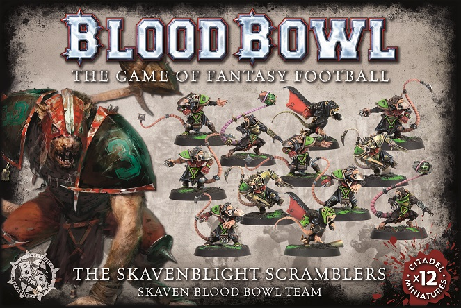 Blood Bowl - Skaven Scramblers
