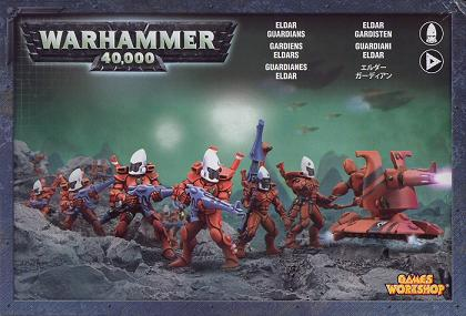 Eldar Guardians & Heavy Weapon Platform