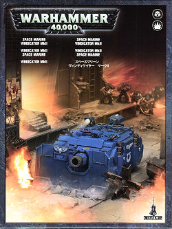 Space Marine Vindicator MK2