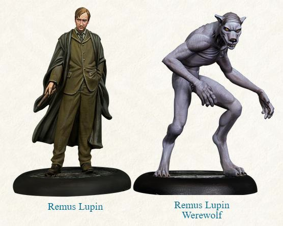 Remus Lupin and Werewolf Form