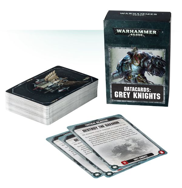Data cards: Grey Knights
