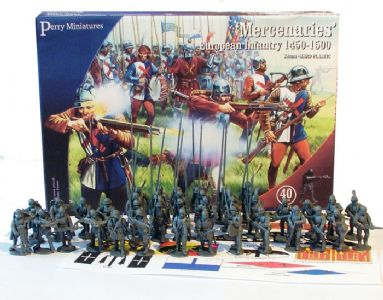 Perry Miniatures 'MERCENARIES' European Infantry 1450-1500