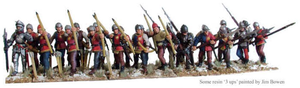 Perry Miniatures Wars of the Roses Infantry 1455-1487