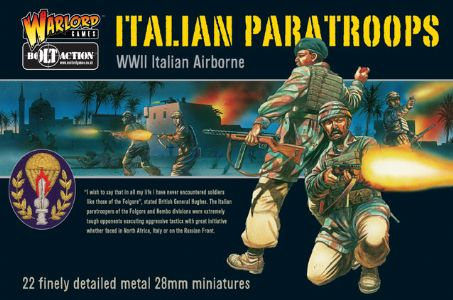 Italian Paratroops - WWII Italian Airborne Boxed Set
