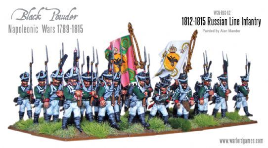 1812-1815 Russian Napoleonic Infantry