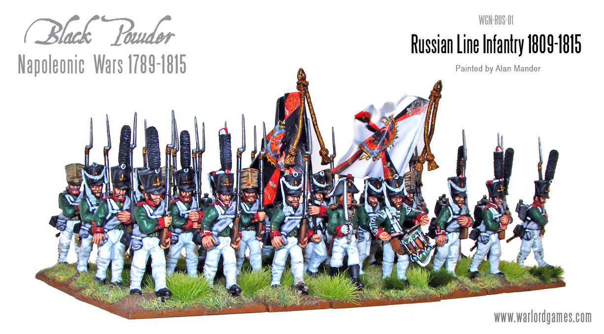 Napoleonic Russian Line Infantry 1809-15