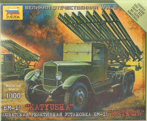 15mm Zvezda Katyusha Rocket Launcher
