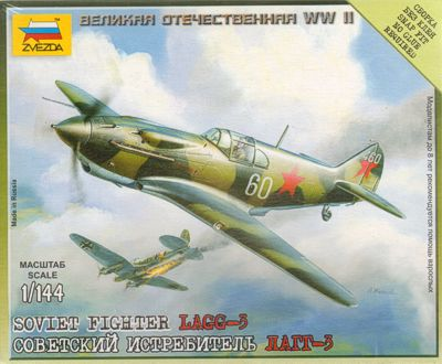 15mm Zvezda Lagg 3 Fighter