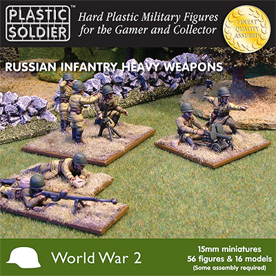 15mm Russian Infantry Heavy Weapons