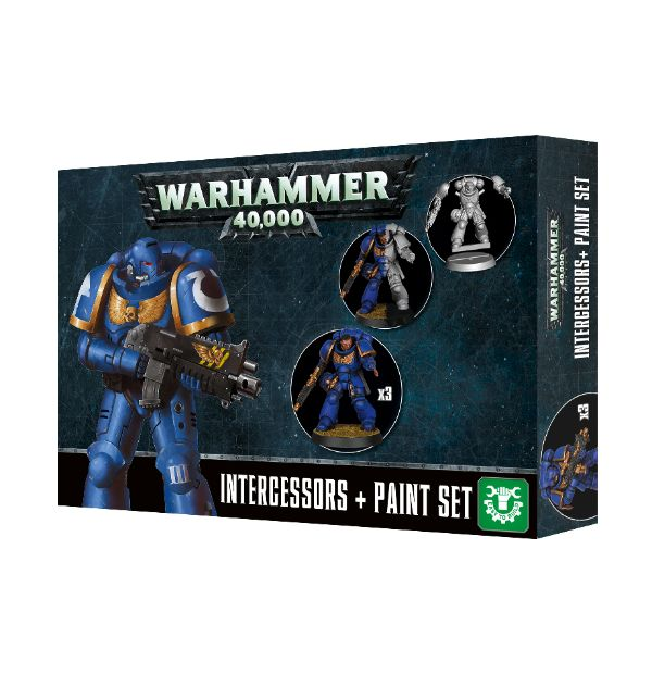 Intercessor + Paint Set