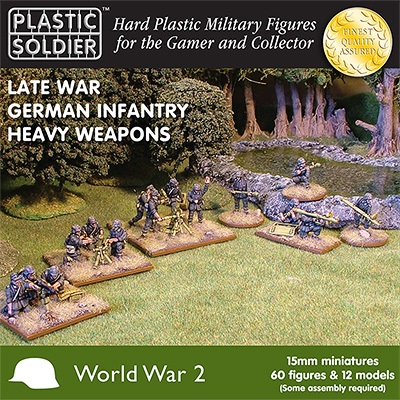 15mm Late War German Infantry Heavy Weapons