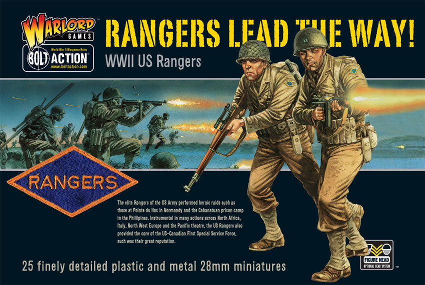 Rangers lead the way! US Rangers plastic boxed set