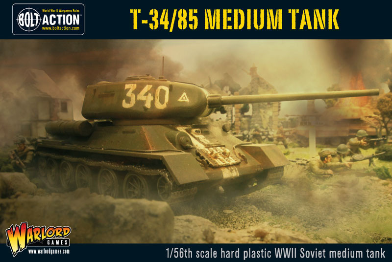 Plastic T-34/76 medium tank