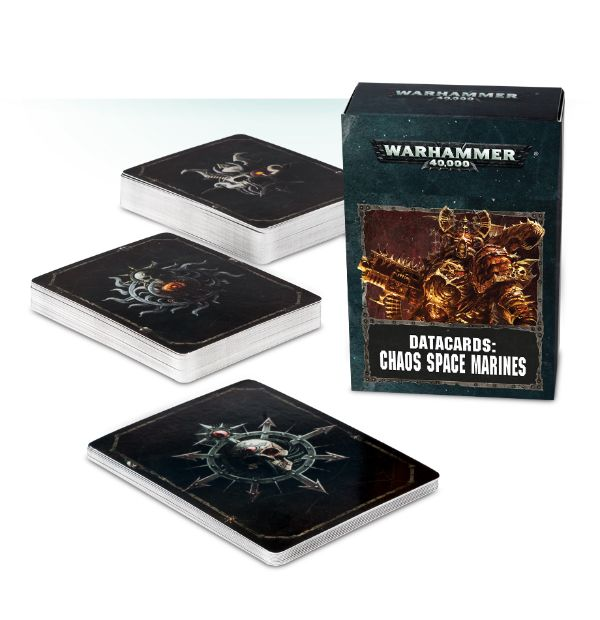 Data cards: Chaos Space Marine