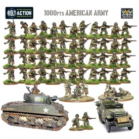 1000pts American Army (Regular Infantry)