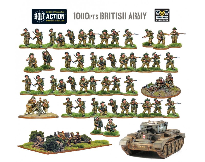 1000pts British Army