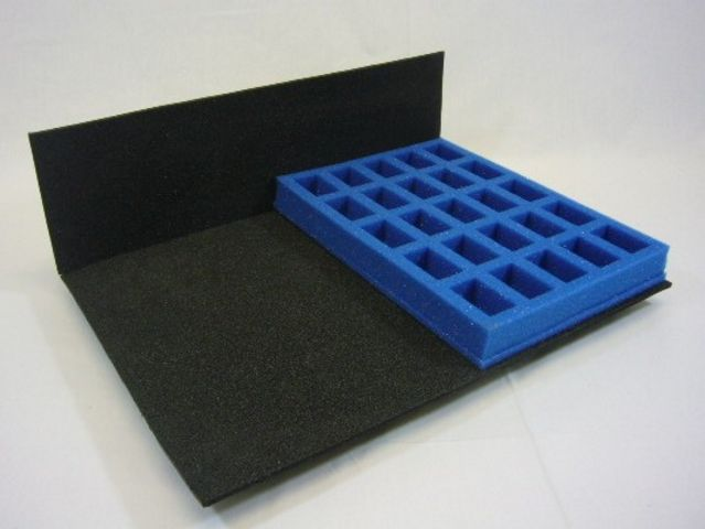 M4H - Half-size - Infantry tray (25% depth of std. Multicase)