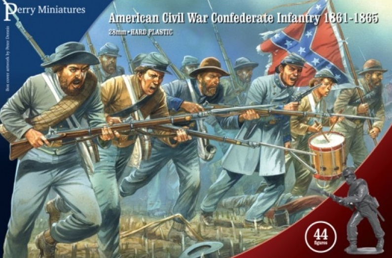 Confederate Infantry 1861-65