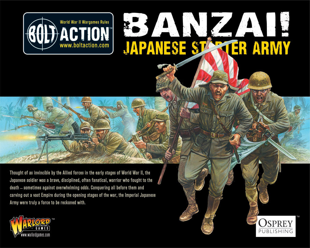 Banzai! Imperial Japanese Army starter army