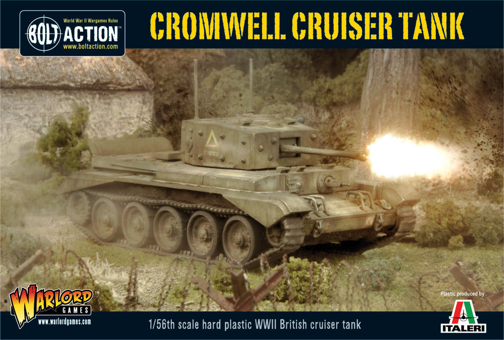 Cromwell Cruiser Tank plastic box set - 25% Off Black Friday