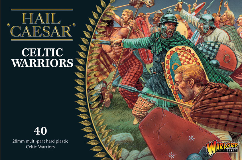 Celtic Warriors plastic boxed set