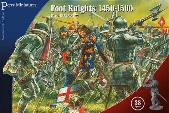 Perry Miniatures Foot Knights 1450-1500.