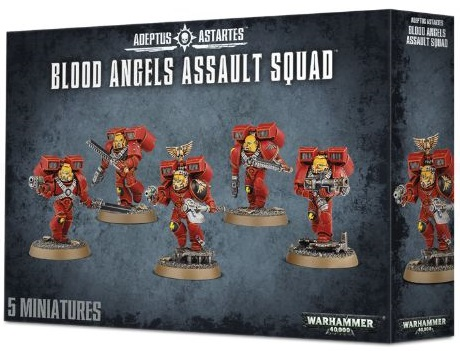 Blood Angel Assault Squad