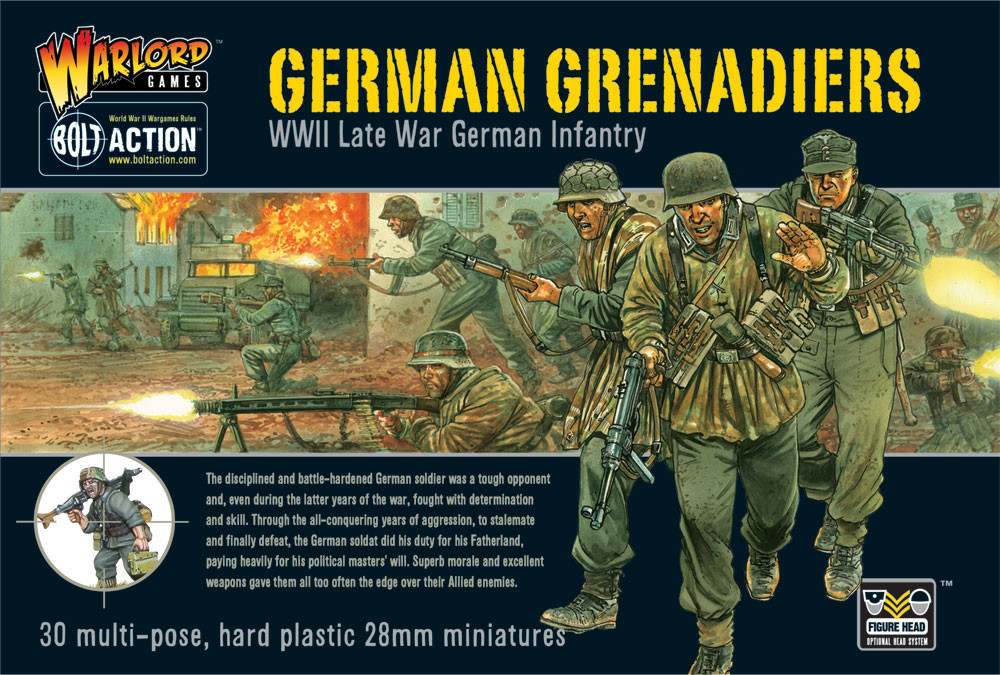 German Grenadiers plastic box set -25% Off Black Friday
