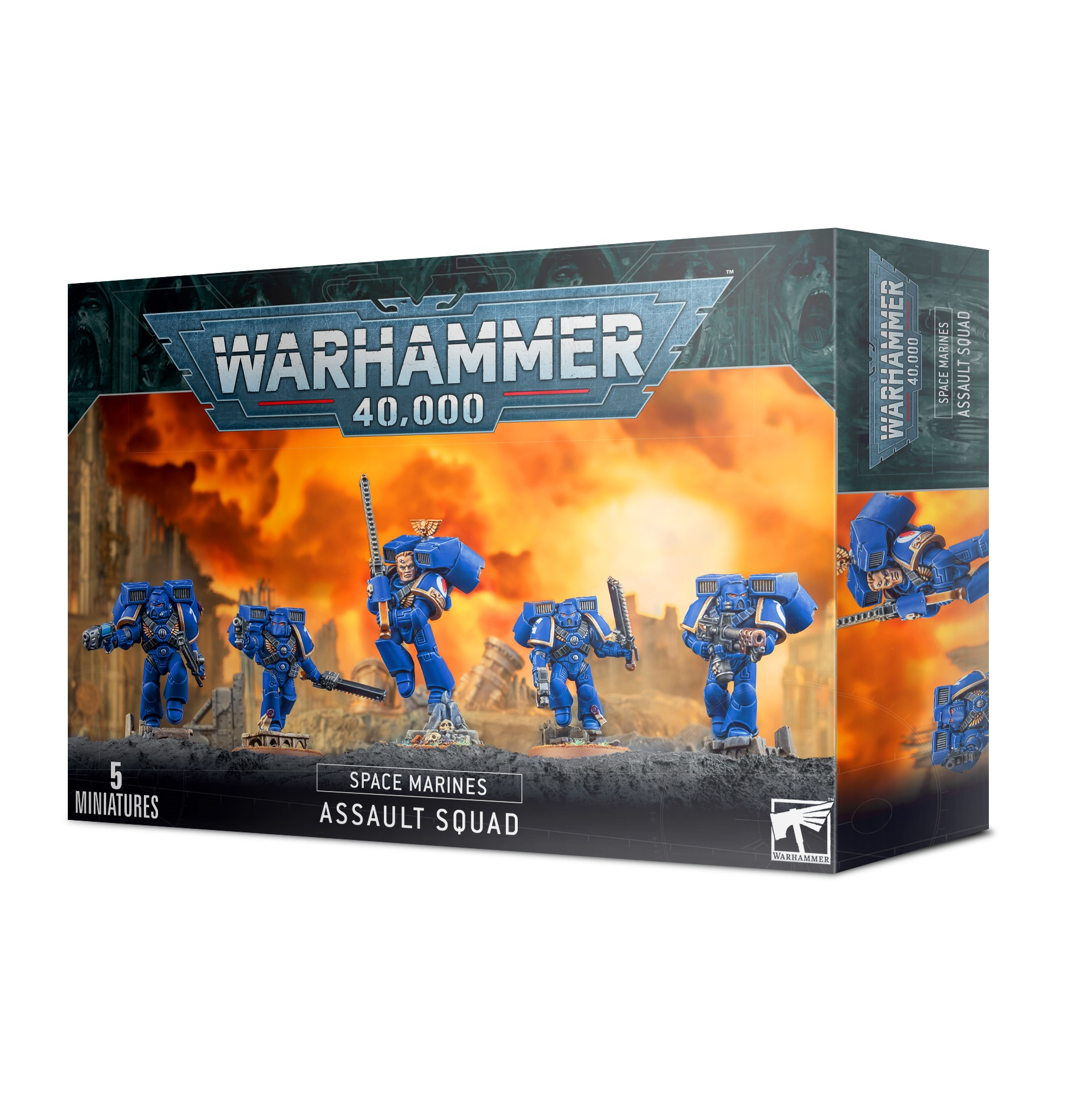 Space Marine Assault Sqaud (2015)