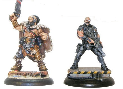 Mercenary Captains - Hansa Nairoba & Bovan Tuk