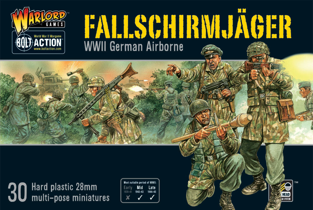 Fallschirmjager (plastic box) - 25% Off Black Friday