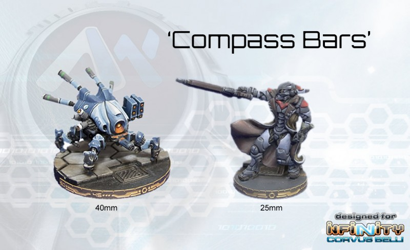 Compass Bars for 25mm